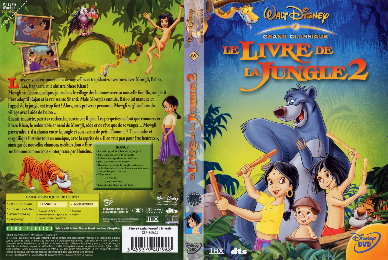 Le livre de la jungle 2 v2 jaquette dvd sur for Le livre de
