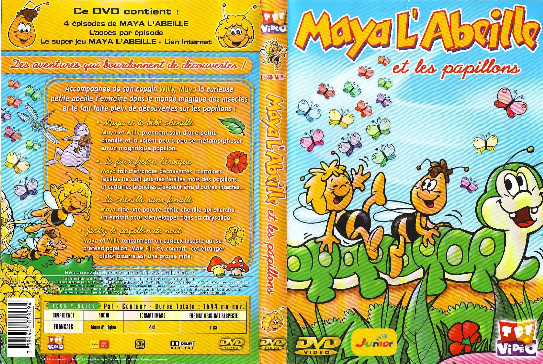 Maya L Abeille Maya L Abeille Et Les Papillons Jaquette Dvd Sur