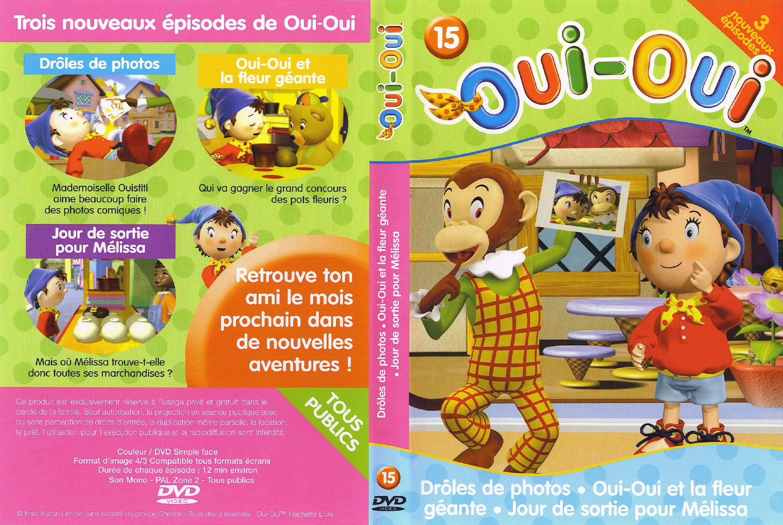 Oui Oui Vol 15 Jaquette Dvd Sur Degaine Com