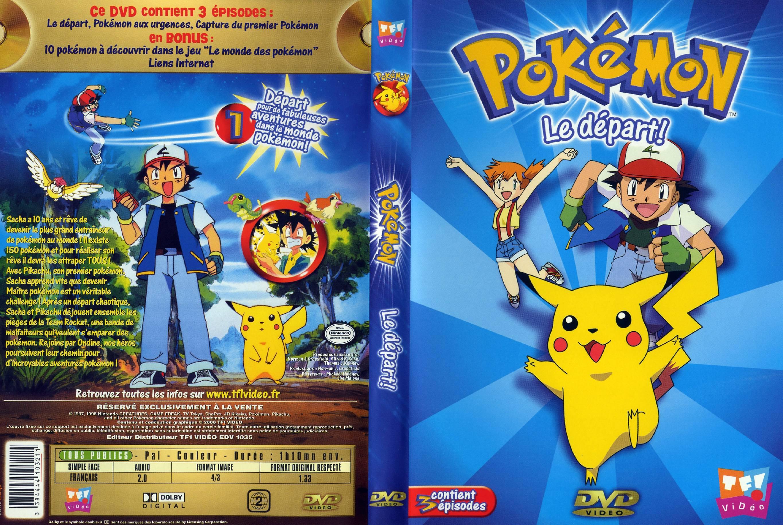 Pokemon Le Depart Jaquette Dvd Sur Degaine Com