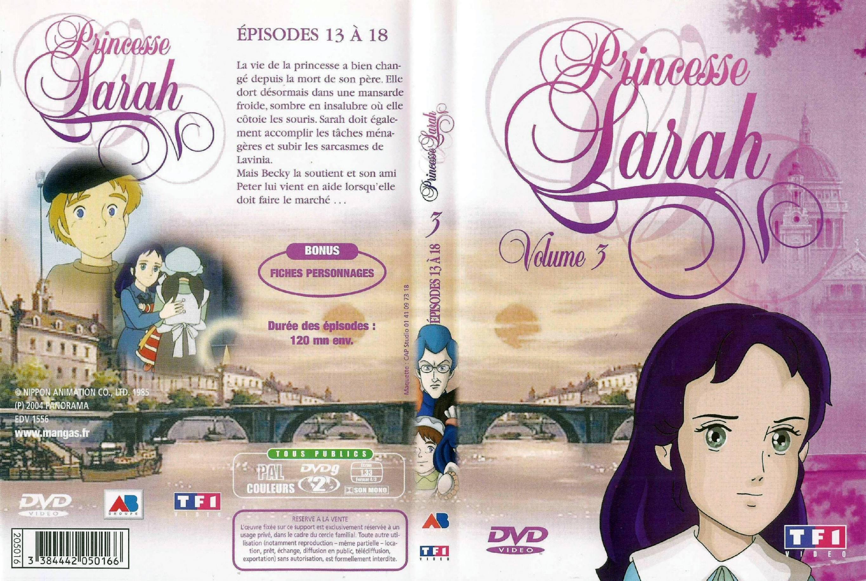 Princesse sarah vol 3 jaquette dvd sur - Voir princesse sarah ...