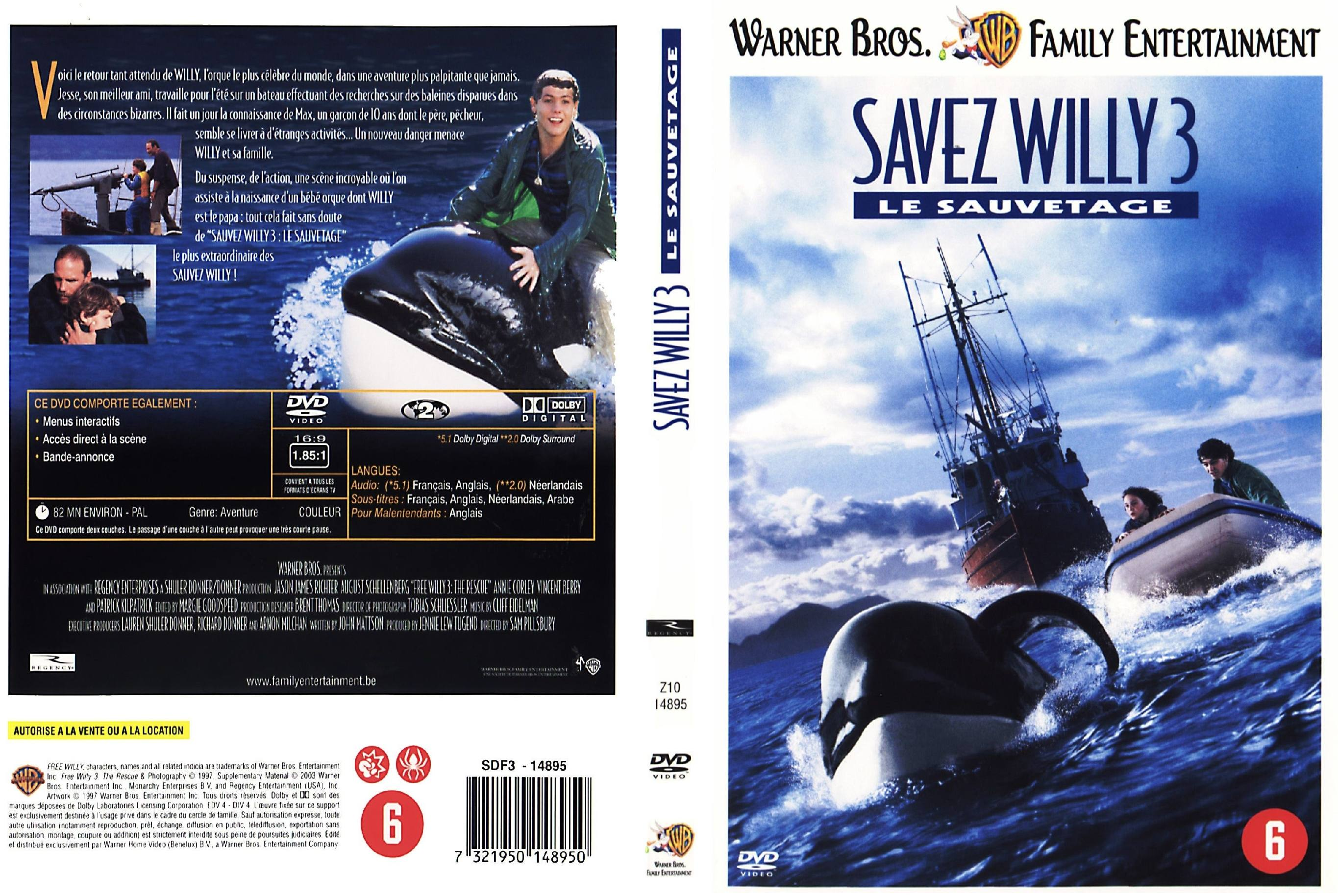 sauvez willy 3